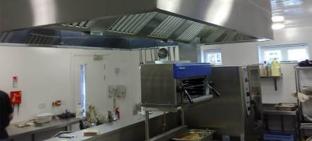 Stainless steel kitchen fabrications by Dolphin Fabrications
