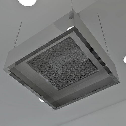 Kitchen ventilation from above