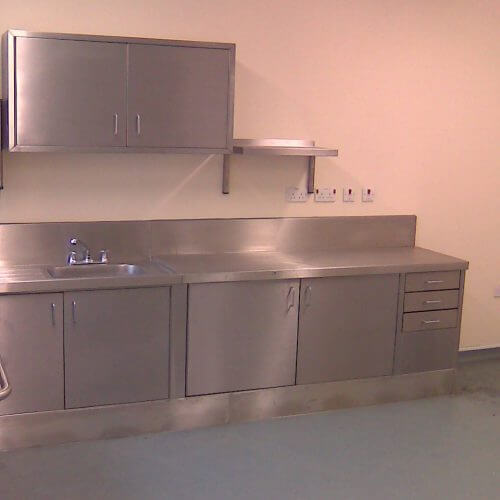Dolphin Fabrications wall and base units