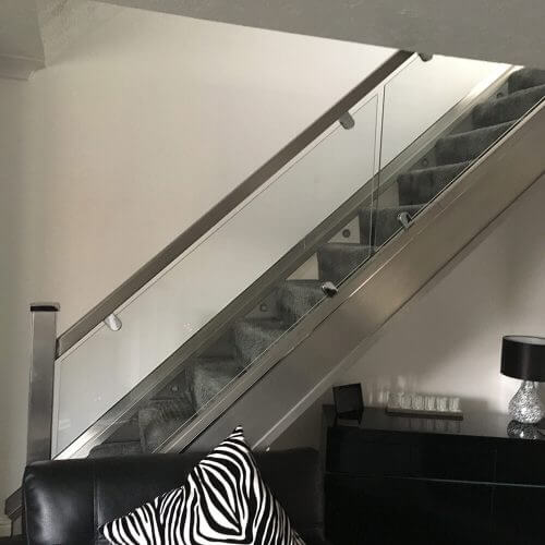 Stainless steel handrails for industry
