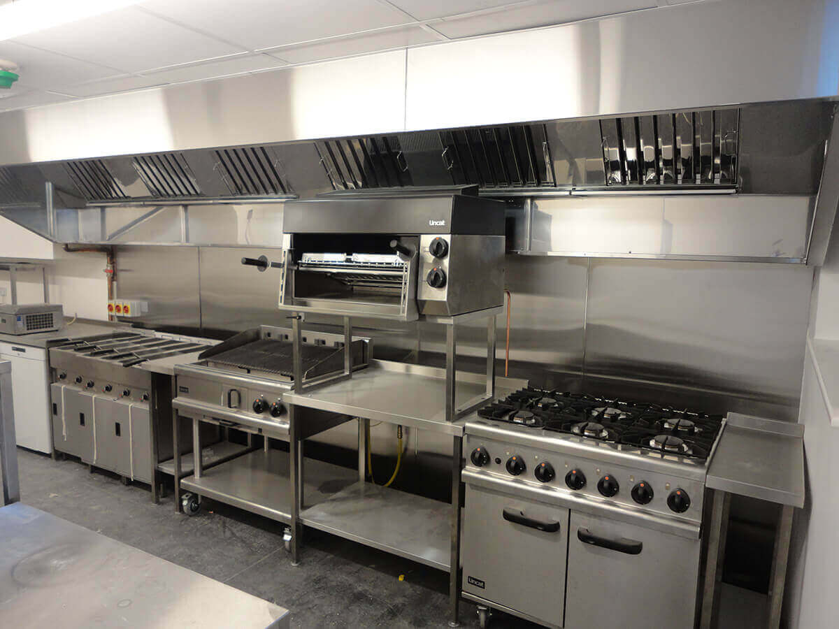 Stainless Steel Kitchen Canopies Dolphin Fabrications