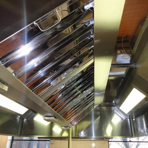 Bespoke kitchen canopy ventilation system