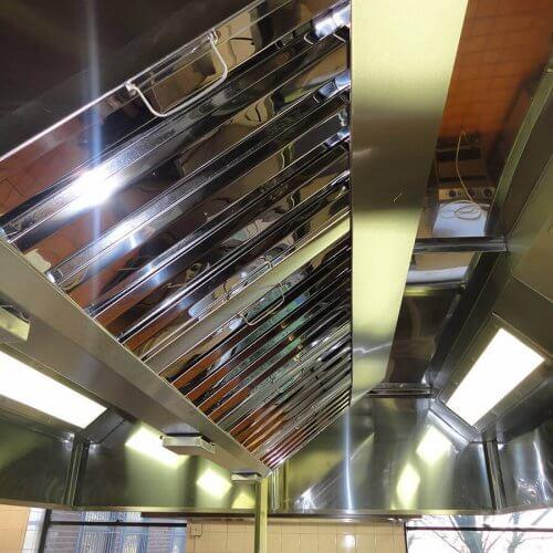 Bespoke kitchen canopy ventilation system