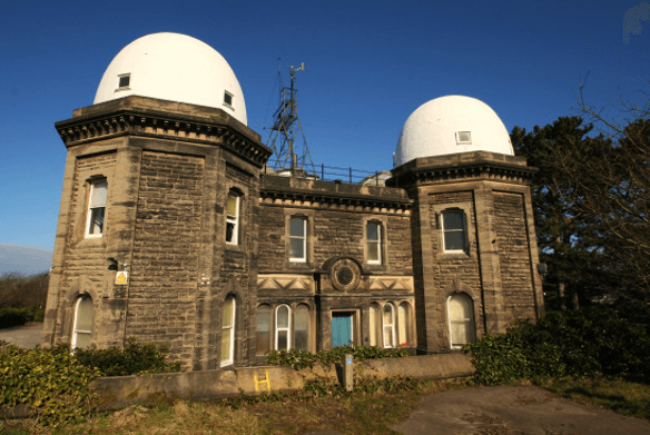 Bidston Observatory from outside