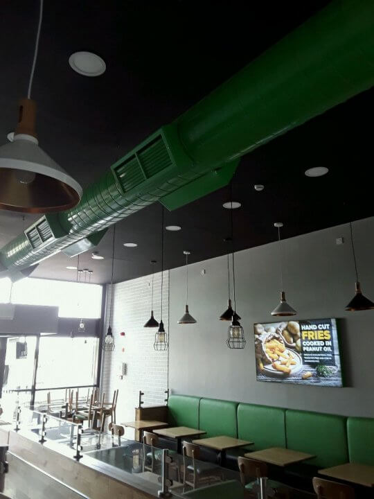 Recent Jobs Completed Urban Burger Doncaster Dolphin