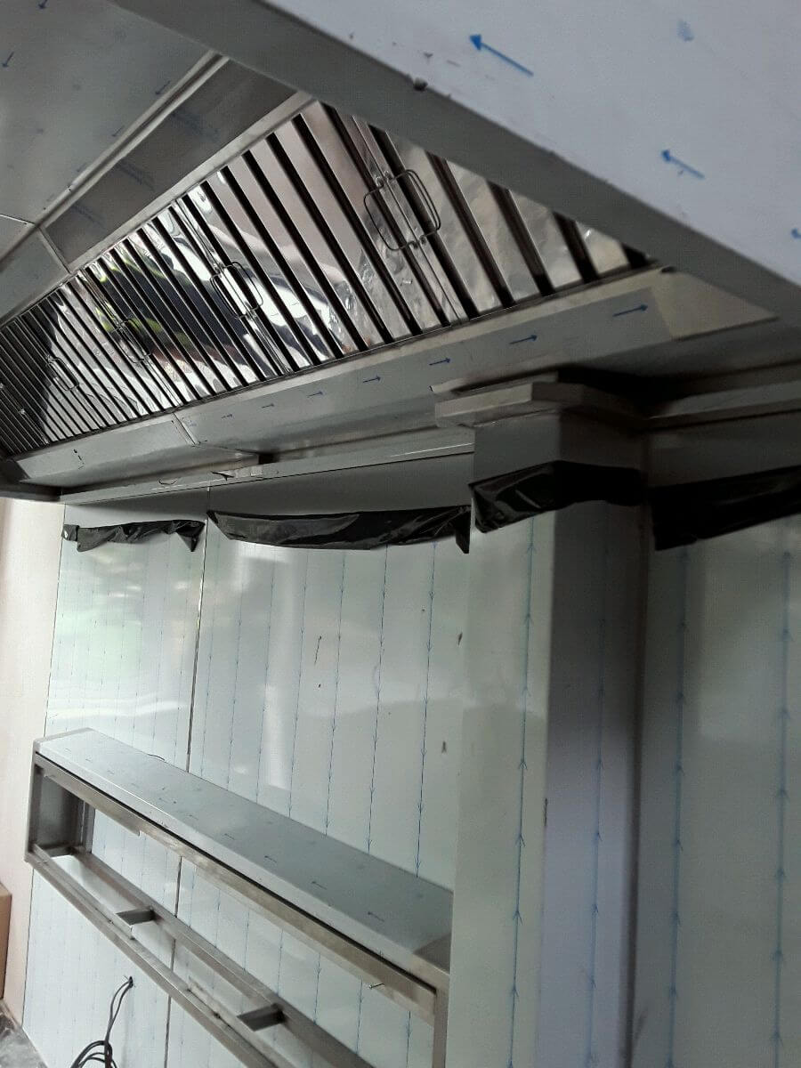 Stainless steel canopy by Dolphin Fabrications