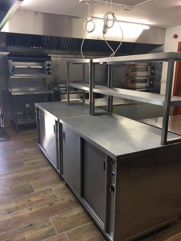 Stainless steel kitchen fabrications by Dolphin