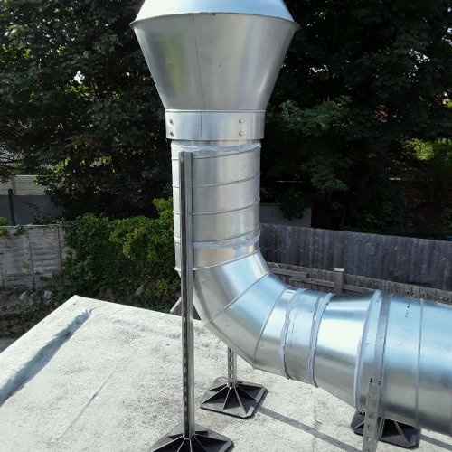 Stainless steel ducting by Dolphin Fabrications
