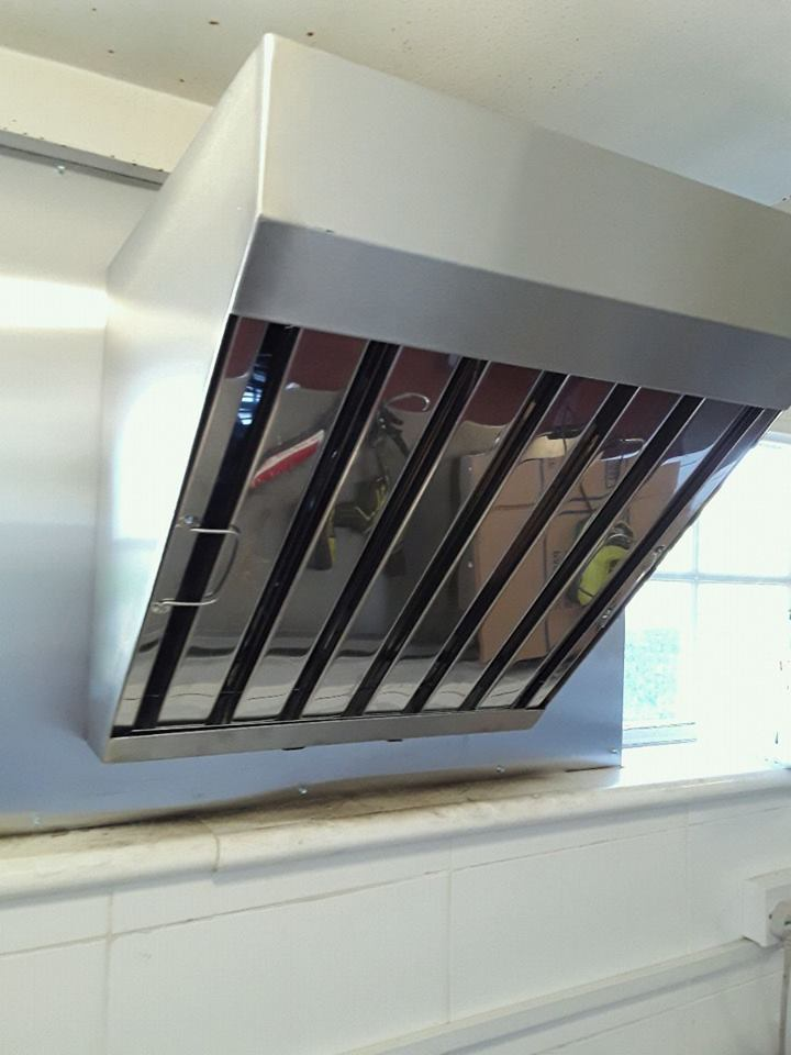 Kitchen ventilation by Dolphin Fabrications