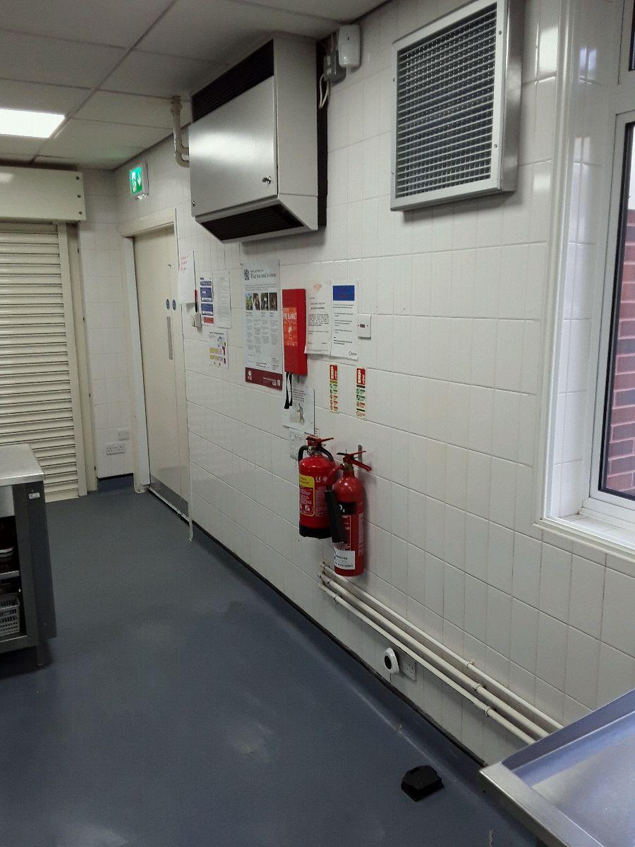 External air supply unit